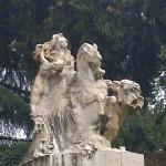 Parco di casa Carducci. bologna, ottobre 2013.